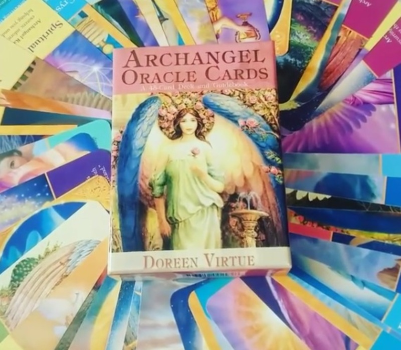 oracle card readings  - Working With Oracle Cards